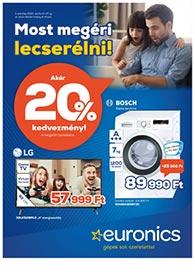 Euronics akciós újság 2020. 04.21-04.27