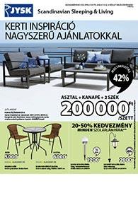 JYSK akciós újság 2020. 04.30-05.13