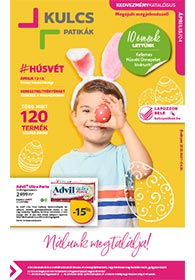 Kulcs patika akciós újság 2020. 04.01-04.30