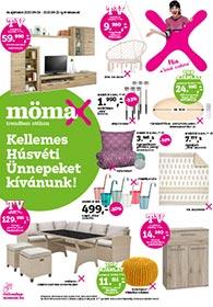 Mömax akciós újság 2020. 04.09-04.22