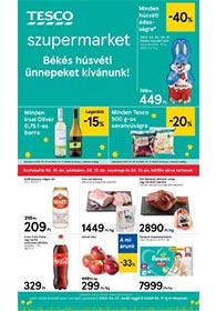 Tesco szupermarket akciós újság 2020. 04.07-04.11