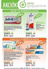 Alma Patikaakciós újság 2020. 04.08-04.30