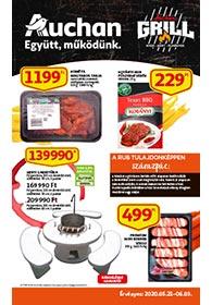 Auchan Grill katalógus 2020. 05.21-06.03
