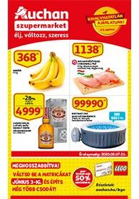 Auchan Szupermarket akciós újság 2020. 05.07-05.13