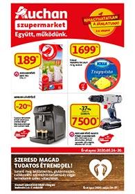 Auchan Szupermarket akciós újság 2020. 05.14-05.20