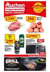 Auchan Szupermarket akciós újság 2020. 05.21-05.27