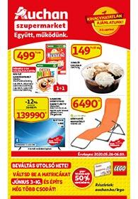 Auchan Szupermarket akciós újság 2020. 05.28-06.03