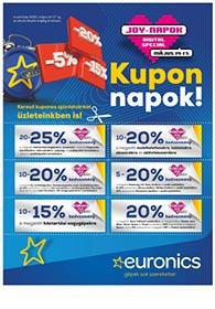 Euronics JOY-napok akciós újság 2020. 05.14-05.17