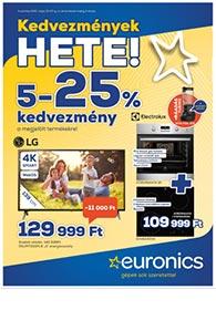 Euronics akciós újság 2020. 05.19-05.25