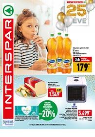 Interspar akciós újság 2020. 05.07-05.13