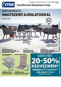 JYSK akciós újság 2020. 05.07-05.20