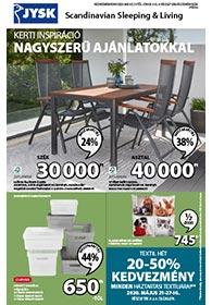 JYSK akciós újság 2020. 05.21-06.03