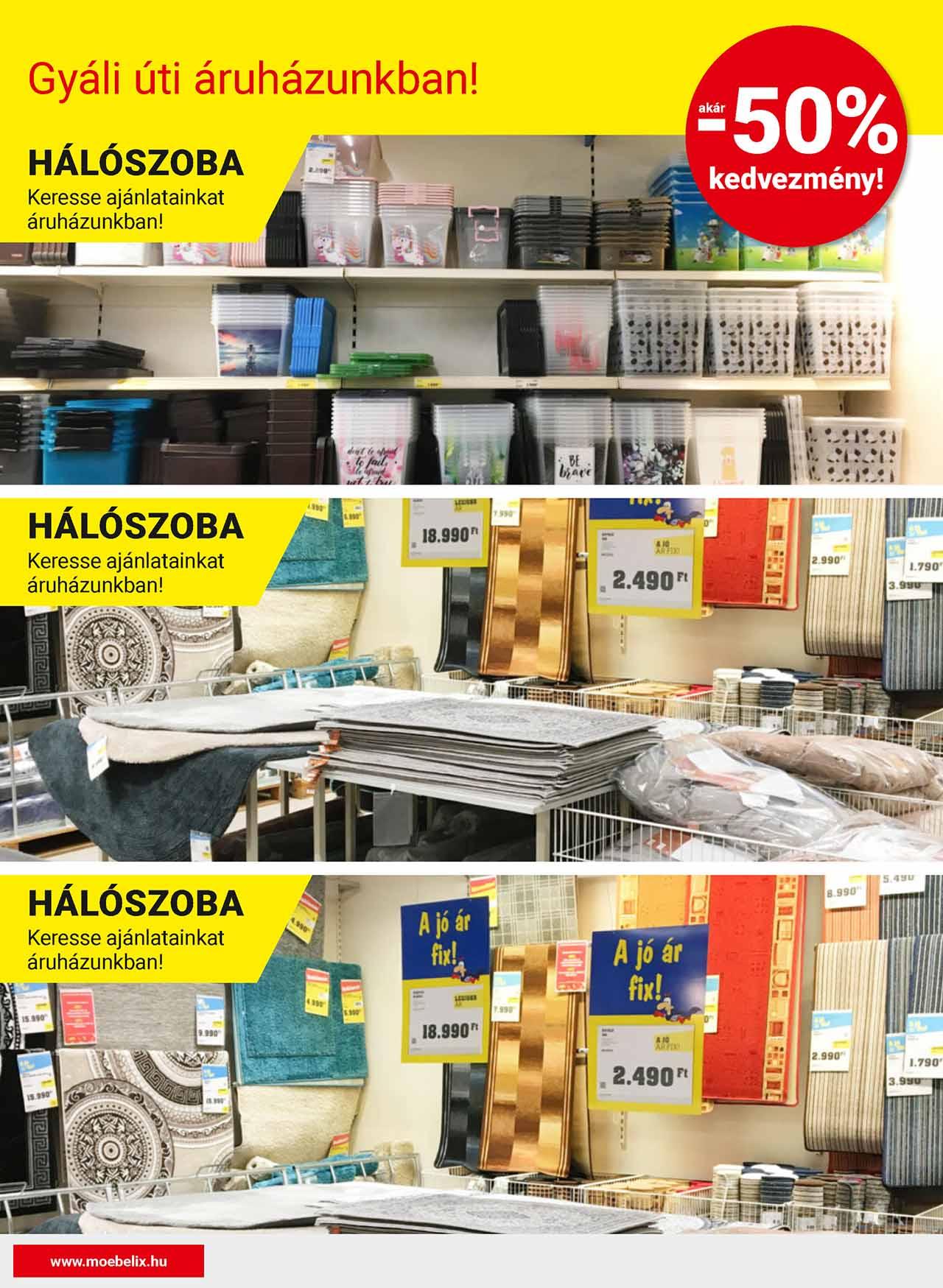 Möbelix Gyáli út akciós újság 2020. 05.21-06.03