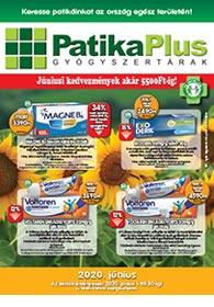 PatikaPlus akciós újság 2020. 06.01-06.30