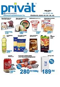 Privát Élelmiszer akciós újság 2020. 05.20-05.30