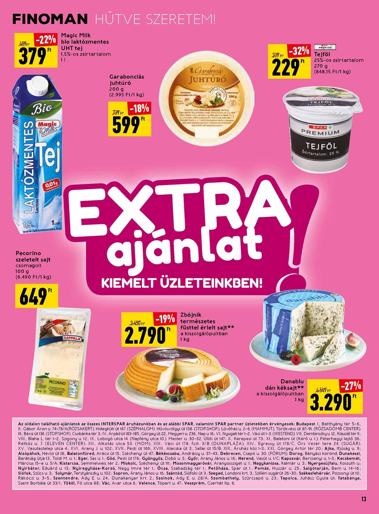 Spar Extra akciós újság 2020. 05.28-06.03