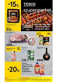 Tesco szupermarket akciós újság 2020. 05.07-05.13