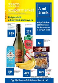 Tesco szupermarket akciós újság 2020. 05.14-05.20