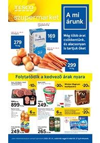 Tesco szupermarket akciós újság 2020. 05.21-05.27