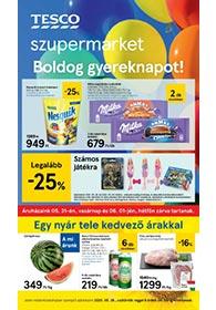 Tesco szupermarket akciós újság 2020. 05.28-06.03