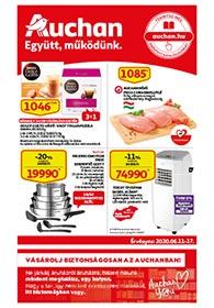Auchan akciós újság 2020. 06.11-06.17