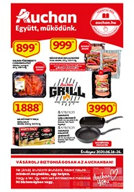 Auchan akciós újság 2020. 06.18-06.24