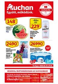Auchan akciós újság 2020. 06.25-07.01