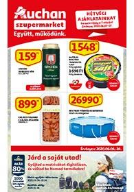 Auchan Szupermarket akciós újság 2020. 06.04-06.10