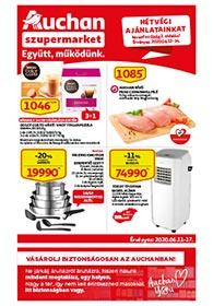 Auchan Szupermarket akciós újság 2020. 06.11-06.17