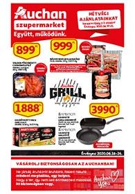 Auchan Szupermarket akciós újság 2020. 06.18-06.24