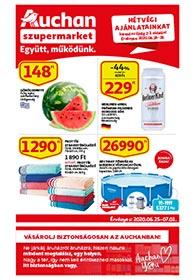 Auchan Szupermarket akciós újság 2020. 06.25-07.01