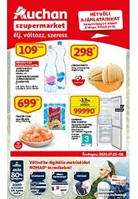 Auchan Szupermarket akciós újság 2020. 07.02-07.08