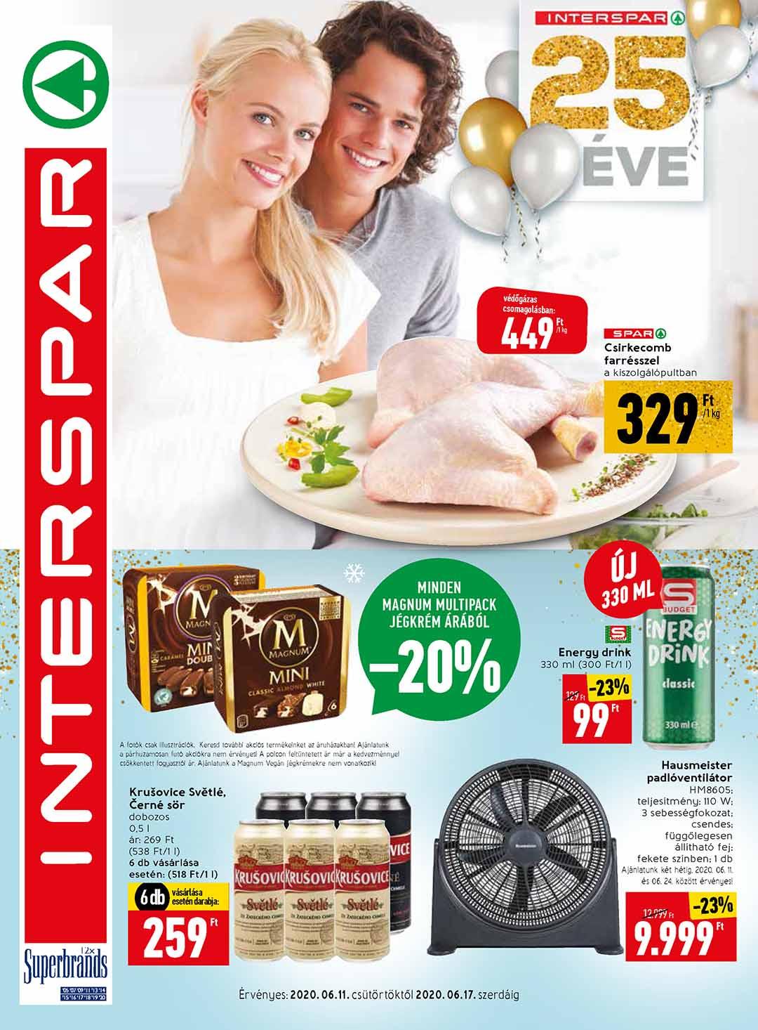 Interspar akciós újság 2020. 06.11-06.17