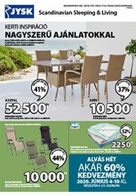 JYSK akciós újság 2020. 06.04-06.17