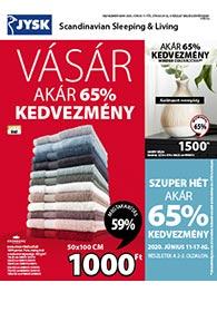 JYSK akciós újság 2020. 06.11-06.24