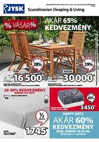 JYSK akciós újság 2020. 06.18-07.01