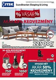 JYSK akciós újság 2020. 06.25-07.08