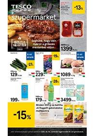 Tesco szupermarket akciós újság 2020. 06.18-06.24