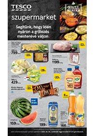 Tesco szupermarket akciós újság 2020. 06.25-07.01