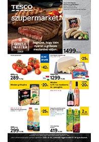 Tesco szupermarket akciós újság 2020. 07.02-07.08