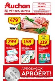 Auchan apróságok akciós újság 2020. 07.09-07.22