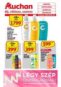 Auchan Kozmetikai Cikkek katalógus 2020. 07.09-07.22