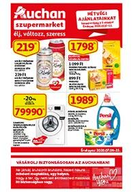 Auchan Szupermarket akciós újság 2020. 07.09-07.15