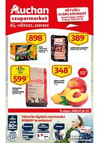 Auchan Szupermarket akciós újság 2020. 07.16-07.22