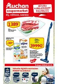 Auchan Szupermarket akciós újság 2020. 07.23-07.29