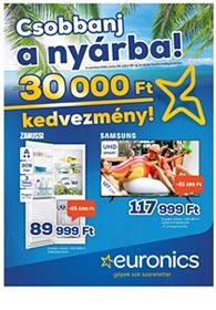 Euronics akciós újság 2020. 06.30-07.06