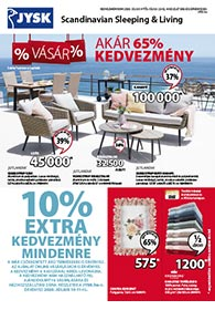 JYSK akciós újság 2020. 07.09-07.22