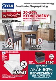 JYSK akciós újság 2020. 07.23-08.05