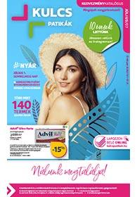 Kulcs patika akciós újság 2020. 07.01-07.31