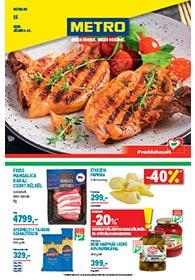 Metro Élelmiszer és Szezonális katalógus 2020 07.01-07.14